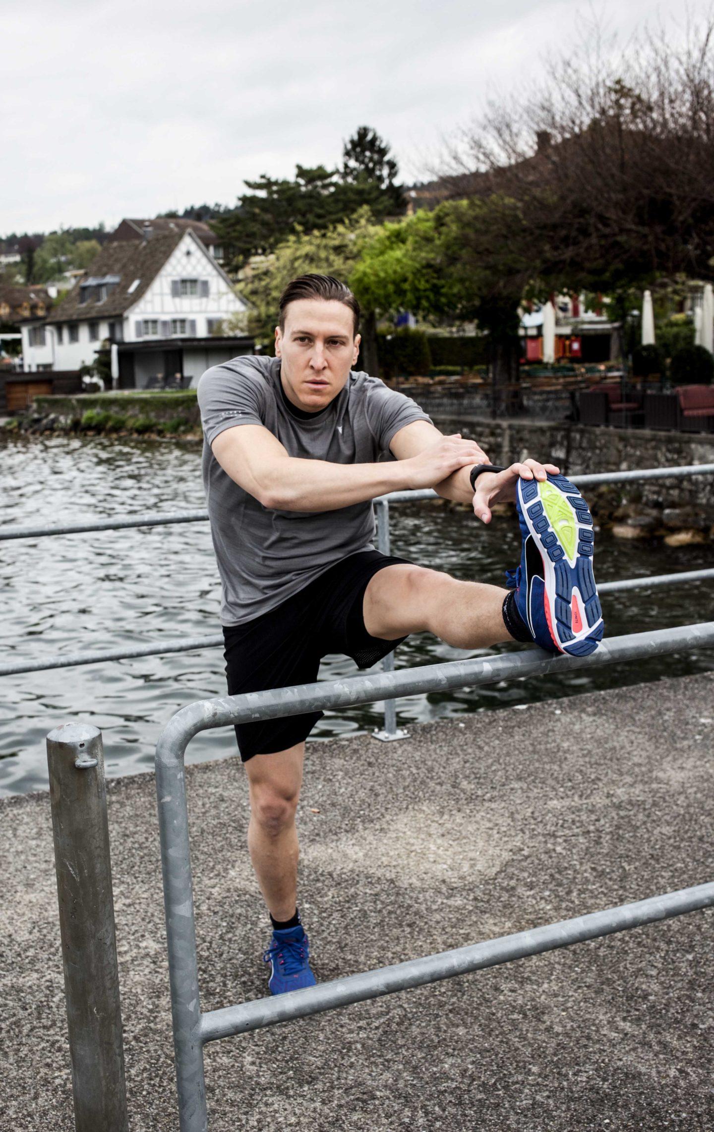 stretching Laufausdauer verbessern Erholungsphase