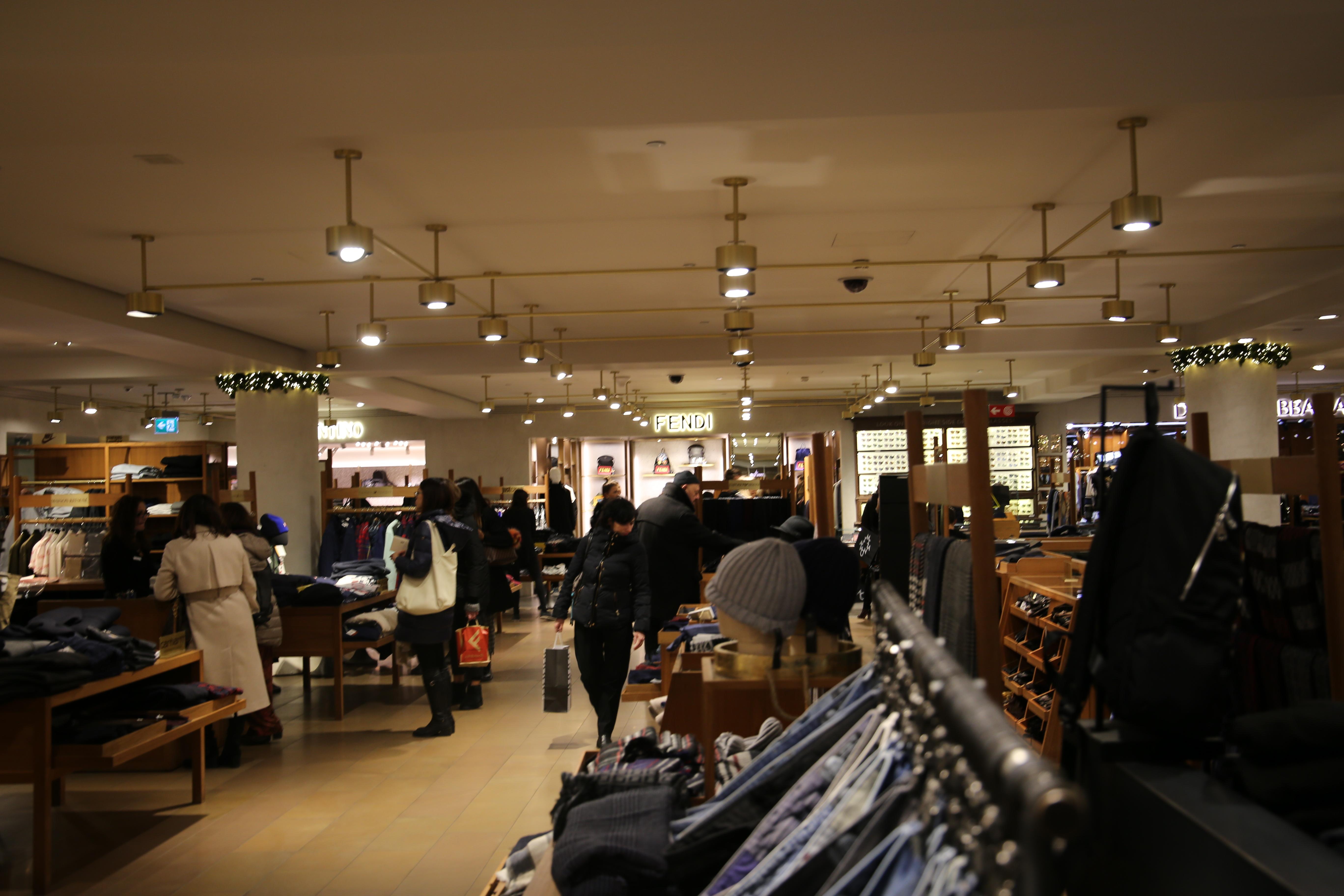 La_Rinascente_Kaufhaus_Shoppen_Mailand_Einkaufen