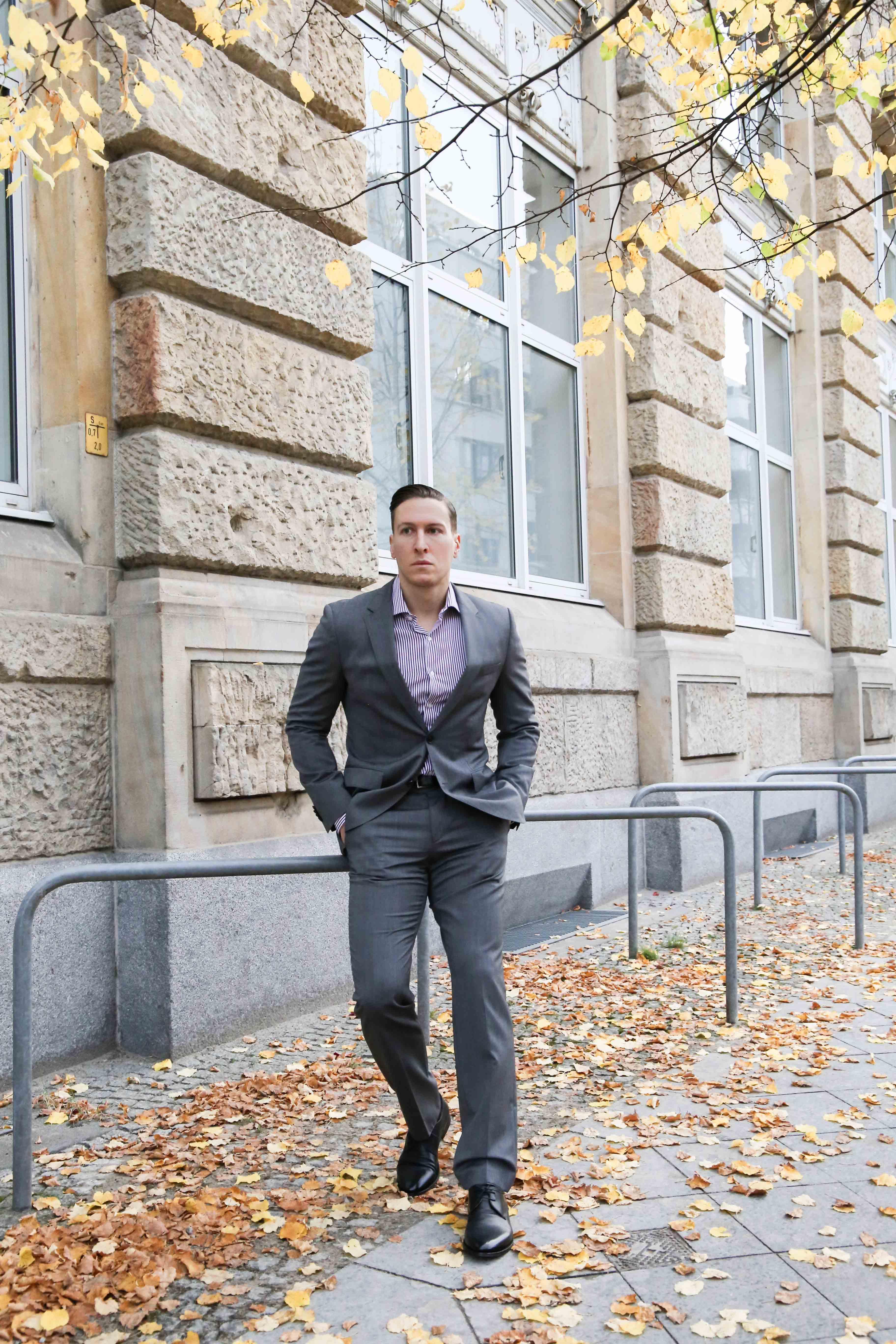 grauen anzug kombinieren mensfashion fashion blog männer