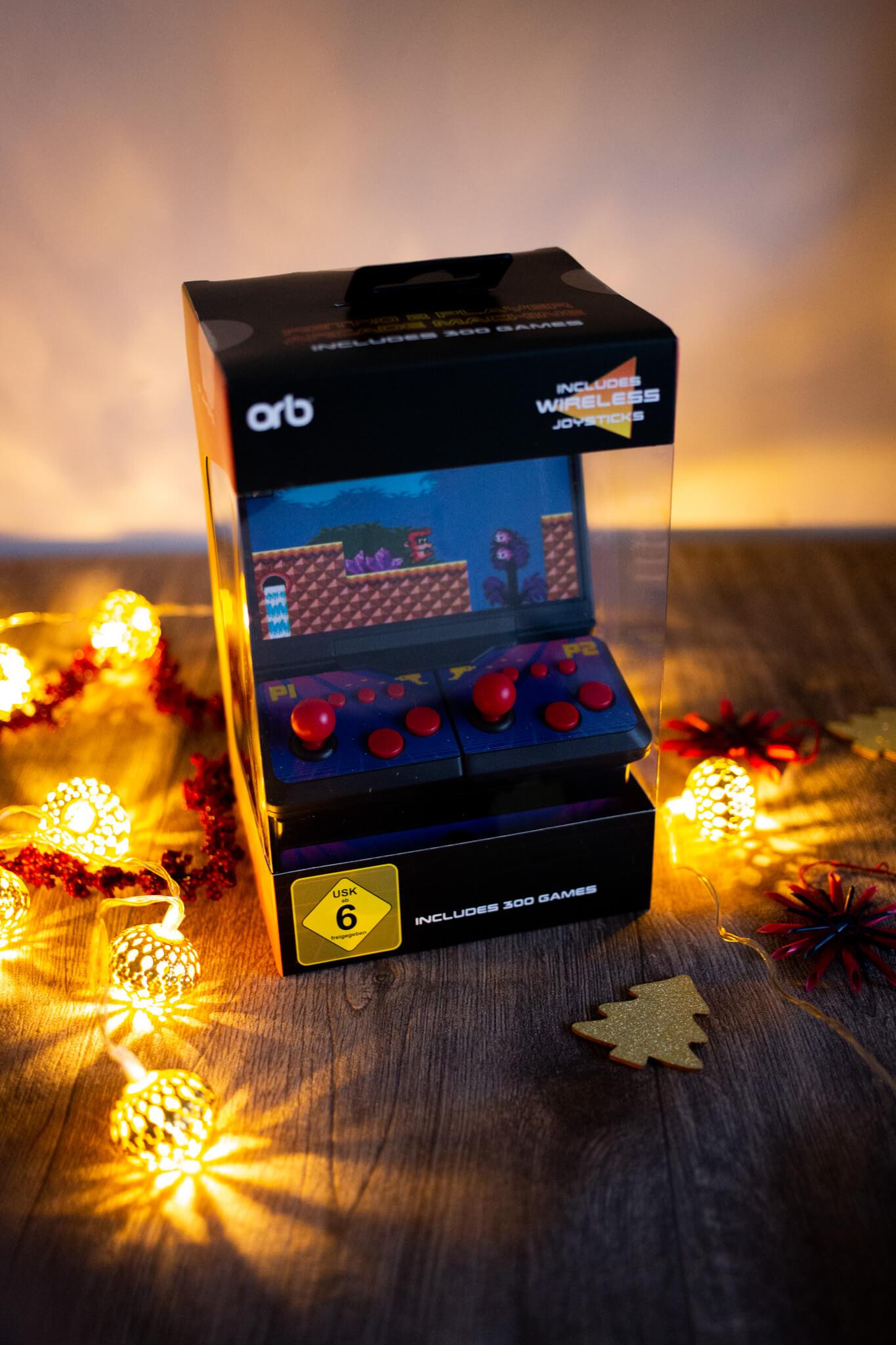 Weihnachtsgeschenk Spielkonsole