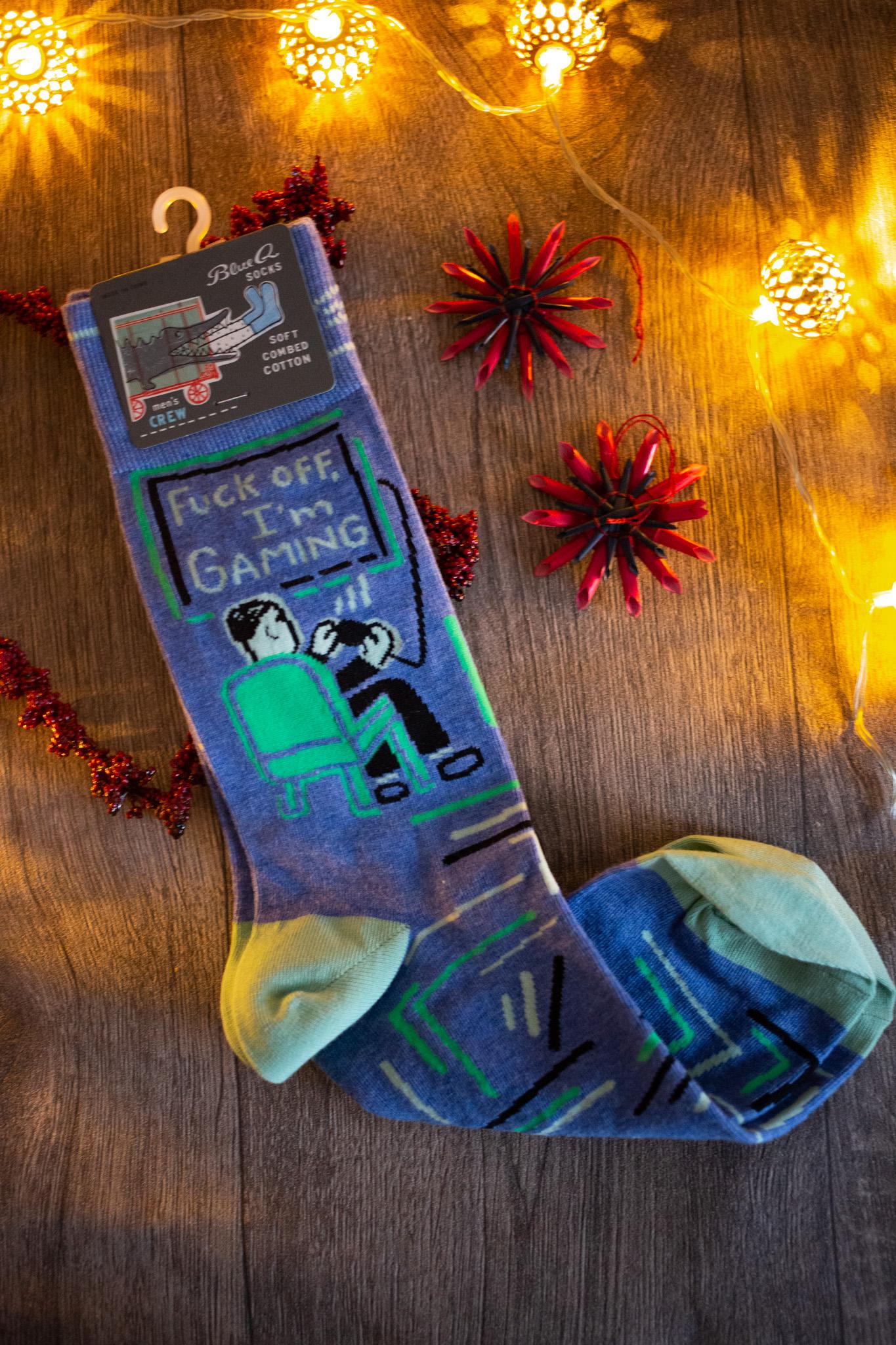 Weihnachtsgeschenk Gaming Socken
