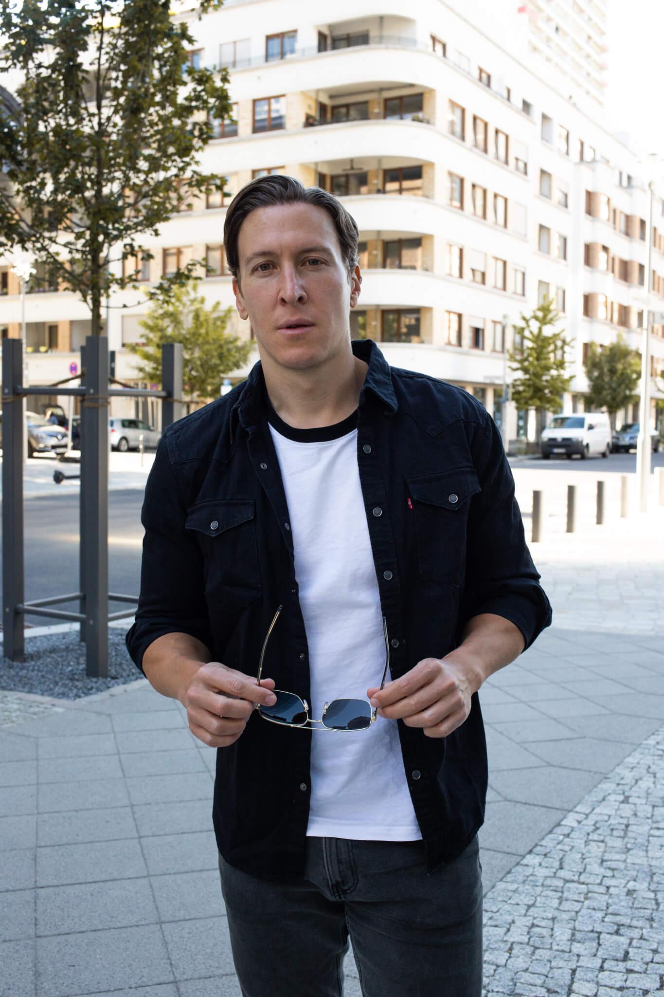 jeanshemd kombinieren streetstyle männer-01