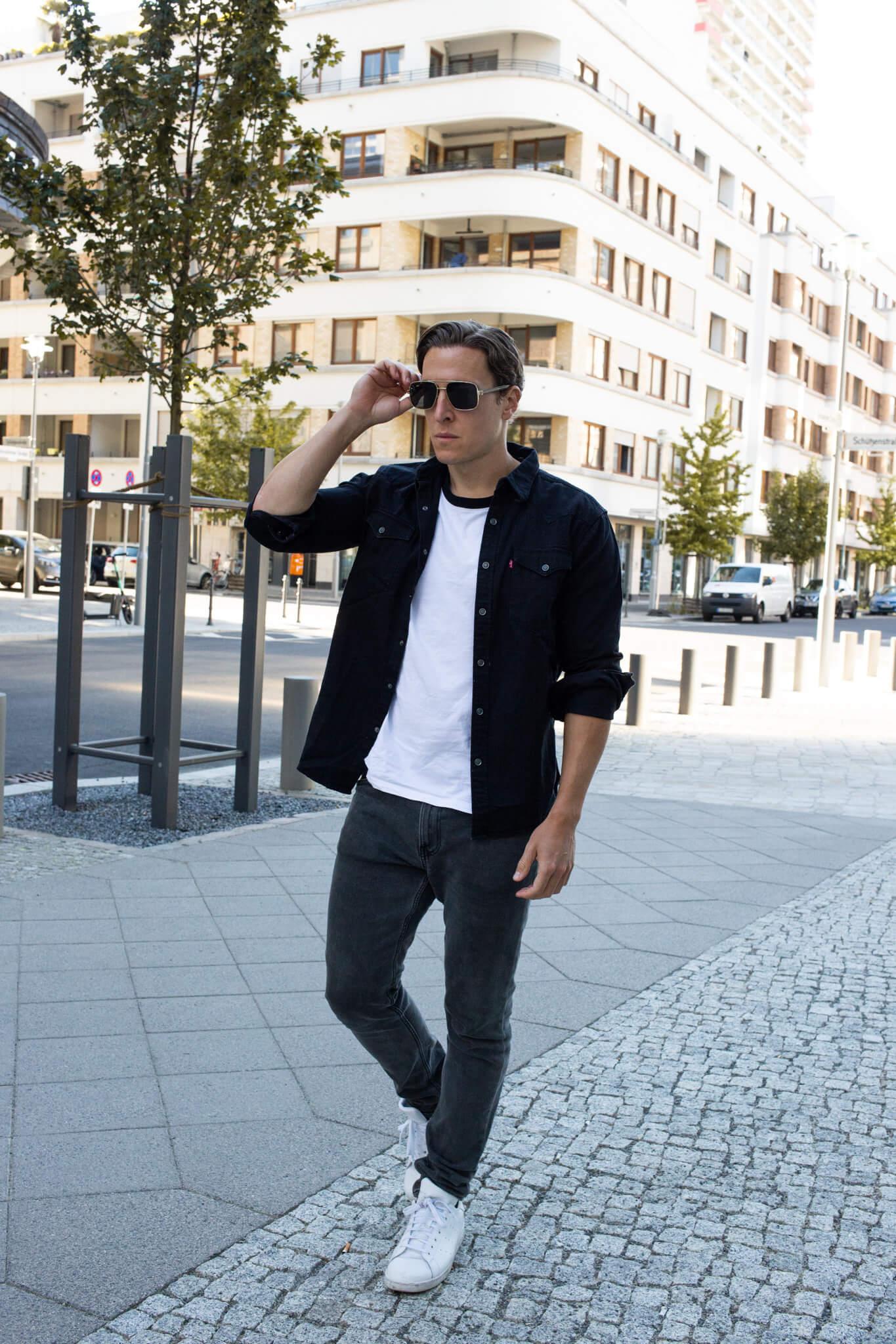 jeanshemd kombinieren streetstyle männer-05
