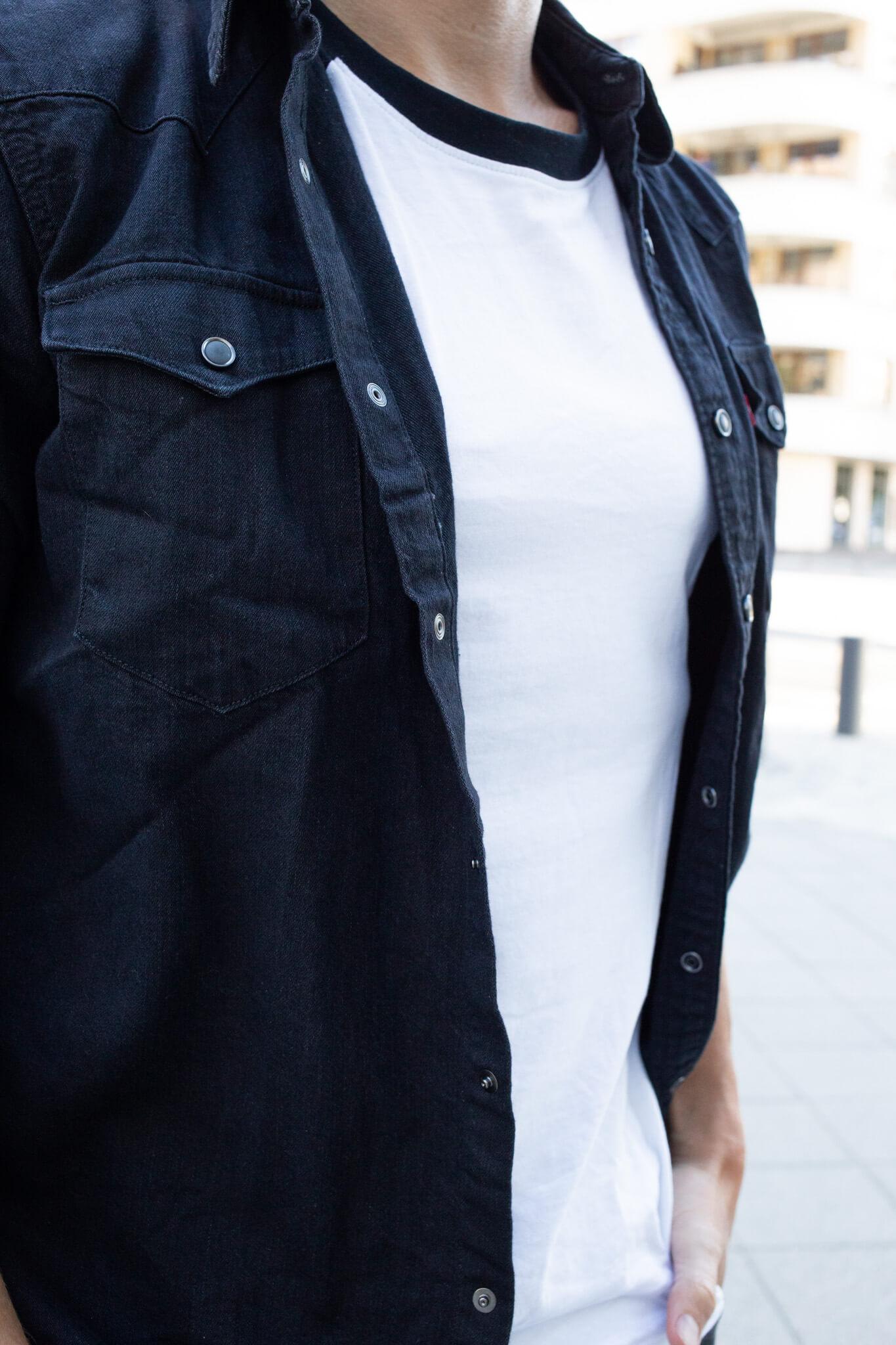 jeanshemd kombinieren streetstyle männer-09
